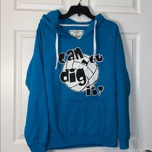 "Volleyball ""Can You Dig it?"" Hoodie"